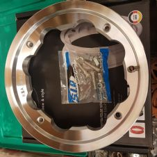 SIP POLISHED ALLOY TUBLESS WHEEL RIM